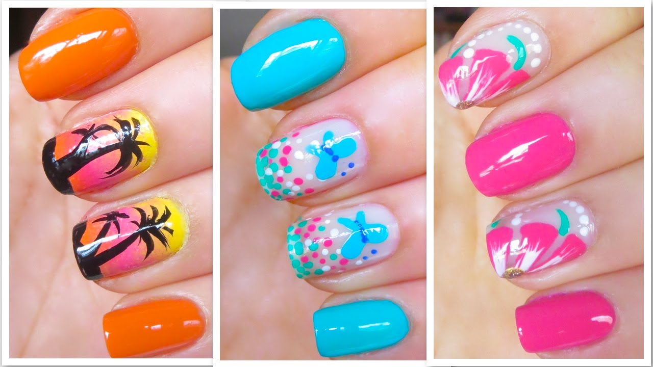 Best Summer Nail Designs, The Colors and Themes