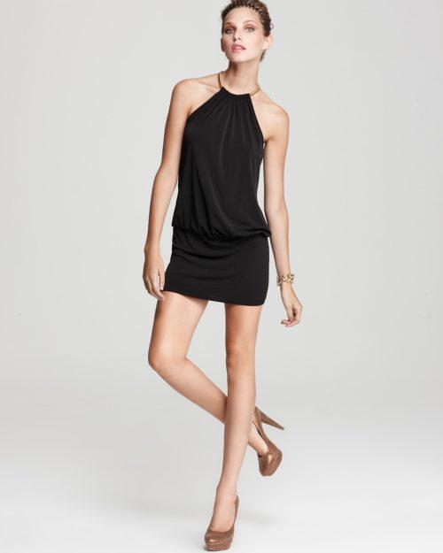 Sexy halter dress