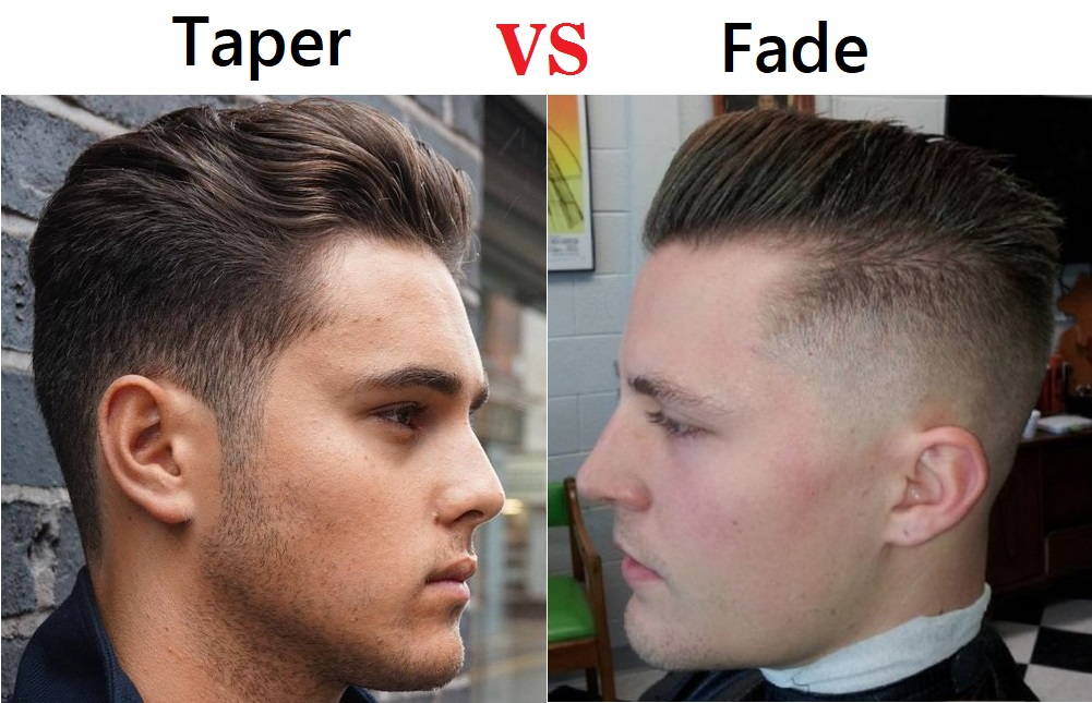 Taper Vs Fade Haircut Choose The Best Hairstyle For You