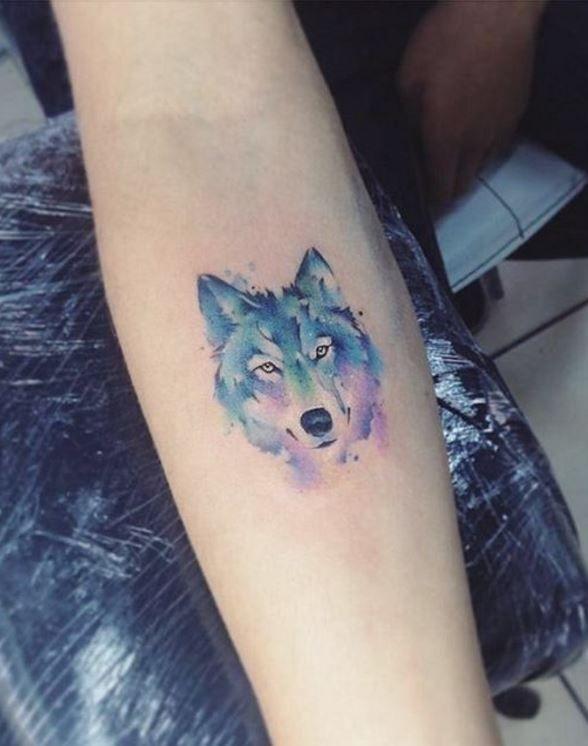 e95adadb2e798 48 Powerful Wolf Tattoo Designs (Tribal, Traditional, & Lone Wolf ...