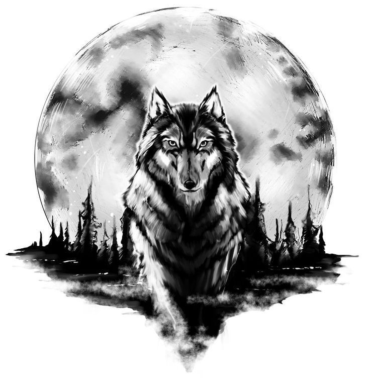 48 powerful wolf tattoo designs tribal traditional lone wolf tattoos. Black Bedroom Furniture Sets. Home Design Ideas